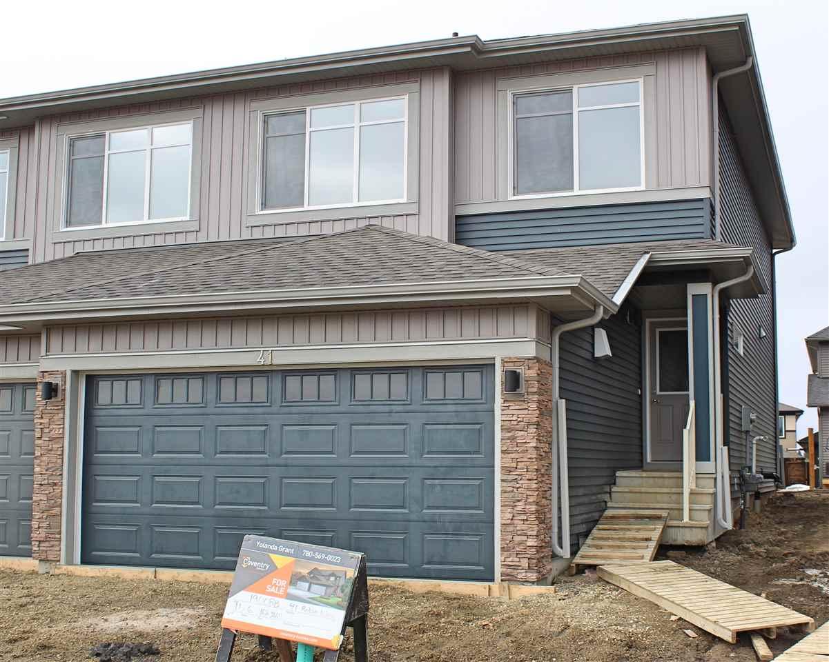 SOLD: 2 Storey Half Duplex, MLS® # E4150641