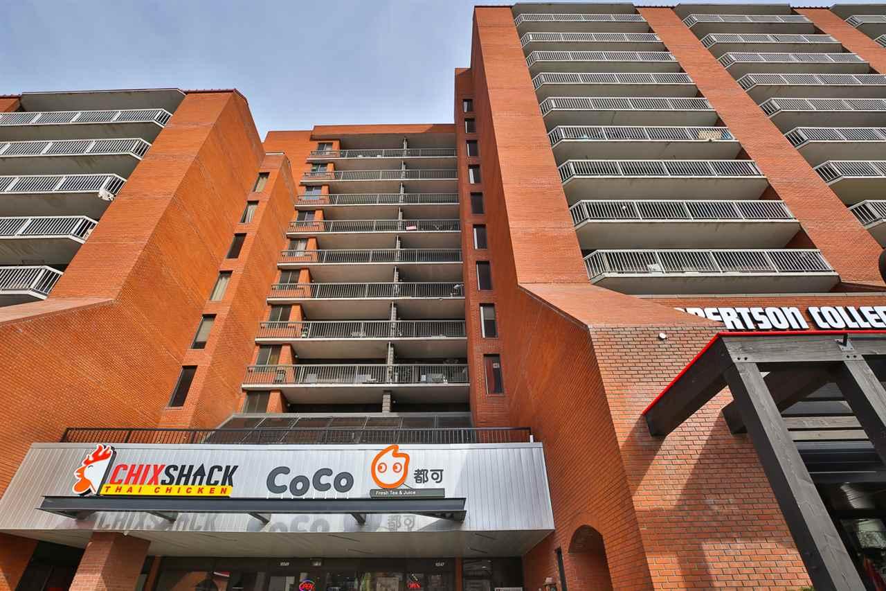 Apartment Style High Rise Condominium for Sale, MLS® # E4151837