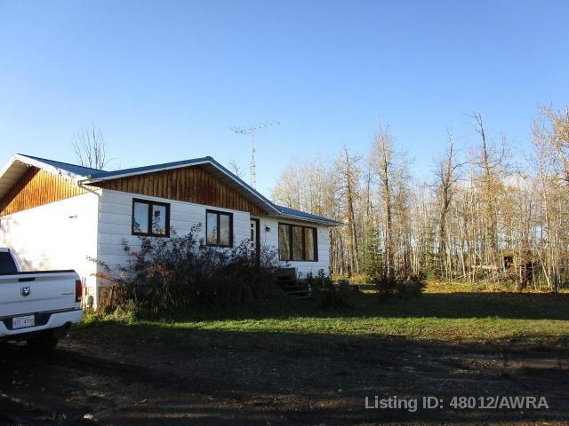 57032 Range Rd 91, 5 bed, 2 bath, at $244,900