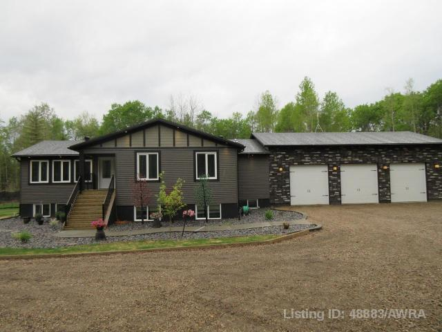 120009 Township Rd 584 C, 6 bed, 3 bath, at $799,000
