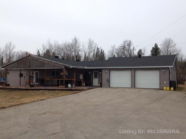 593069 A Range Rd 125, 3 bed, 2 bath, at $399,900