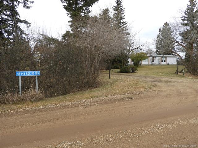 47446 Range Road 185, 5 bed, 3 bath, at $399,000