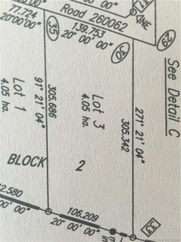 431029 Lot 3 Range Road 261, at $1,500,000