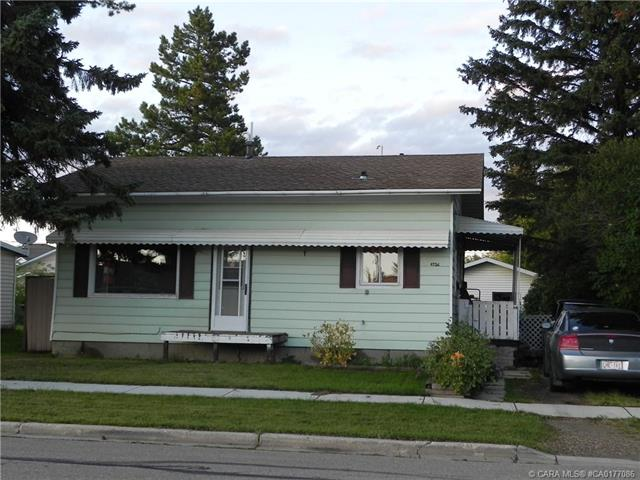 4726 48 Avenue, 2 bed, 1 bath, at $170,000