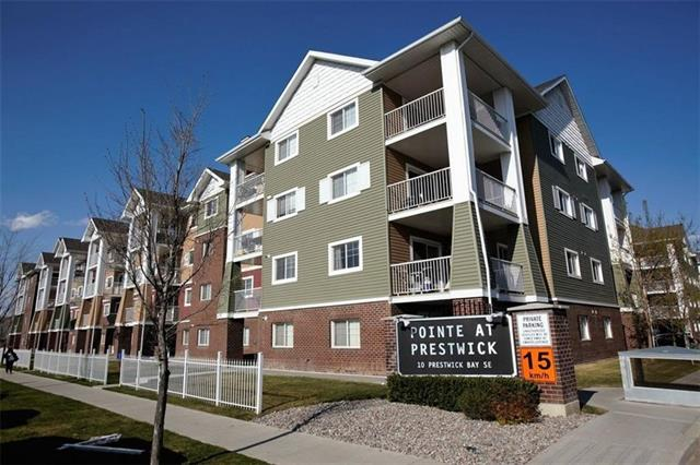 #3412 10 PRESTWICK BA SE, 1 bed, 1 bath, at $195,000