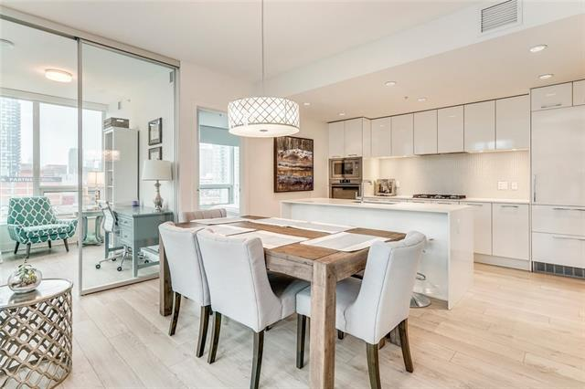 #606 901 10 AV SW, 2 bed, 2 bath, at $485,000
