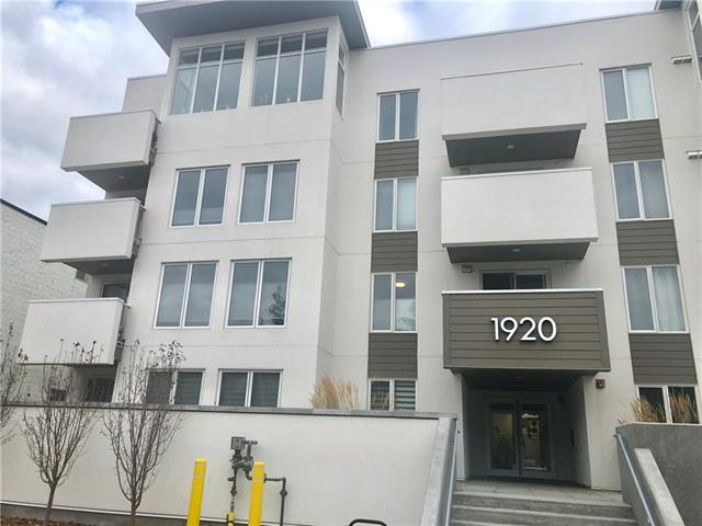 #401 1920 11 AV SW, 2 bed, 2 bath, at $448,000
