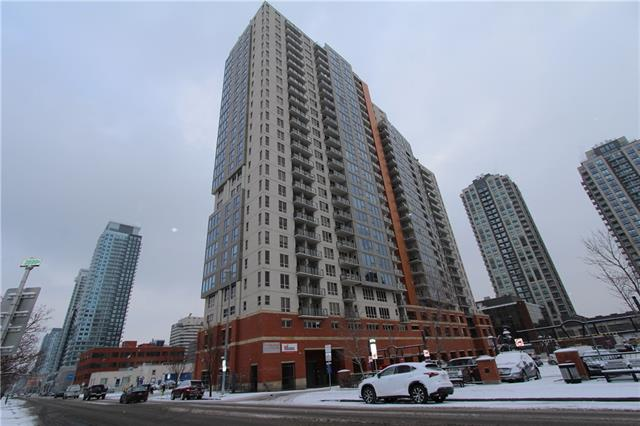 #1401 1053 10 ST SW, 2 bed, 1 bath, at $320,000