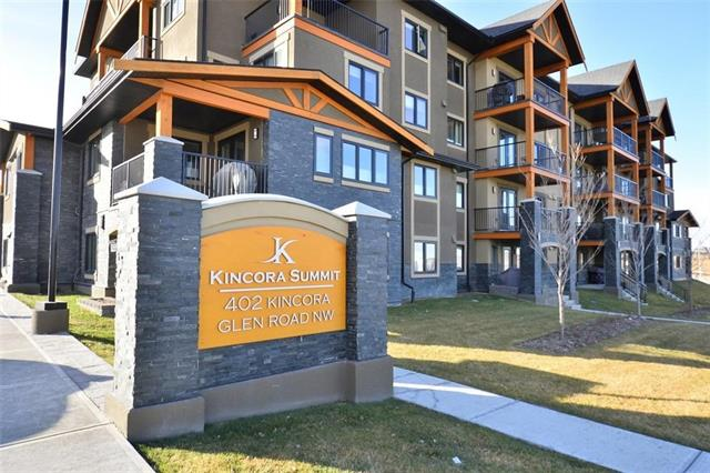 #2216 402 KINCORA GLEN RD NW, 2 bed, 2 bath, at $389,900