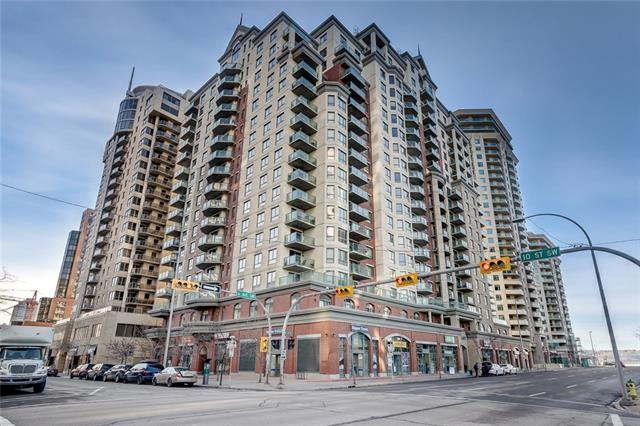 #514 1111 6 AV SW, 2 bed, 1 bath, at $305,000