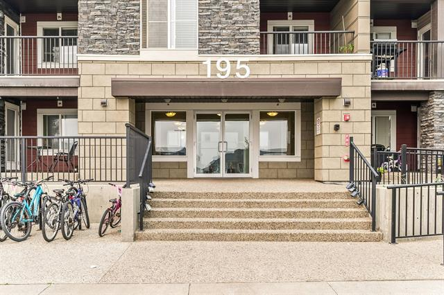 #105 195 KINCORA GLEN RD NW, 2 bed, 2 bath, at $195,000