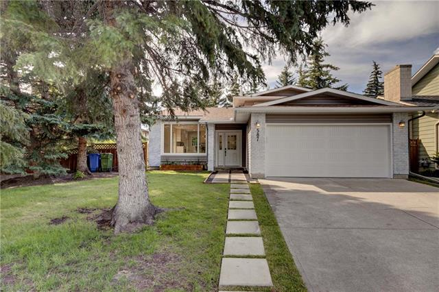 5877 DALCASTLE DR NW, 4 bed, 3 bath, at $719,900