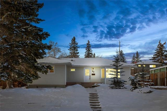 97 GLAMORGAN DR SW, 4 bed, 2 bath, at $434,900