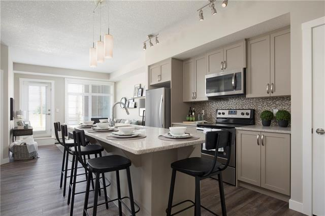#1207 3727 SAGE HILL DR NW, 2 bed, 2 bath, at $266,595