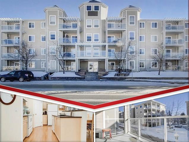 #212 270 SHAWVILLE WY SE, 2 bed, 2 bath, at $224,950