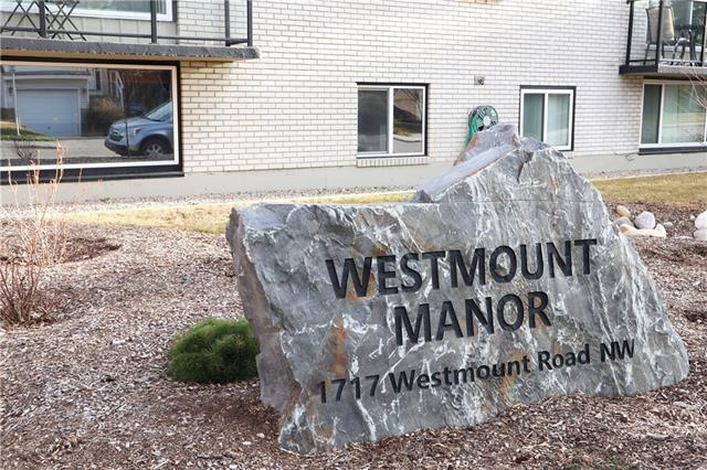 #13 1717 WESTMOUNT RD NW, 1 bed, 1 bath, at $187,900