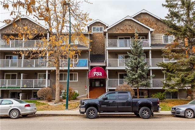 #105 732 57 AV SW, 2 bed, 1 bath, at $179,000