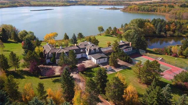 Gadsby Lake Residence - Township 414  , 7 bed, 5.8 bath, at $6,988,000