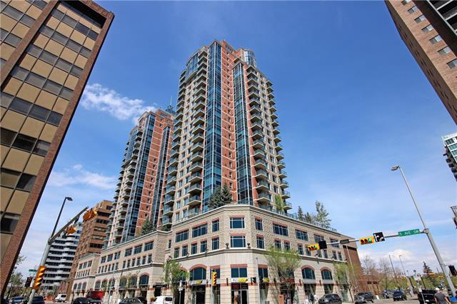 #2308 910 5 AV SW, 2 bed, 2 bath, at $458,800