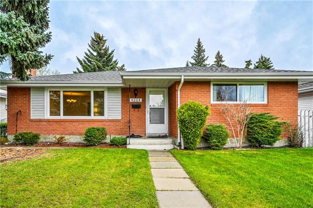 4208 VOYAGEUR DR NW, 4 bed, 2 bath, at $484,000