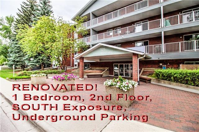 #207 525 56 AV SW, 1 bed, 1 bath, at $165,000