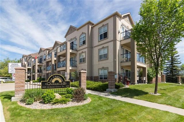 #2105 303 ARBOUR CREST DR NW, 2 bed, 2 bath, at $309,900