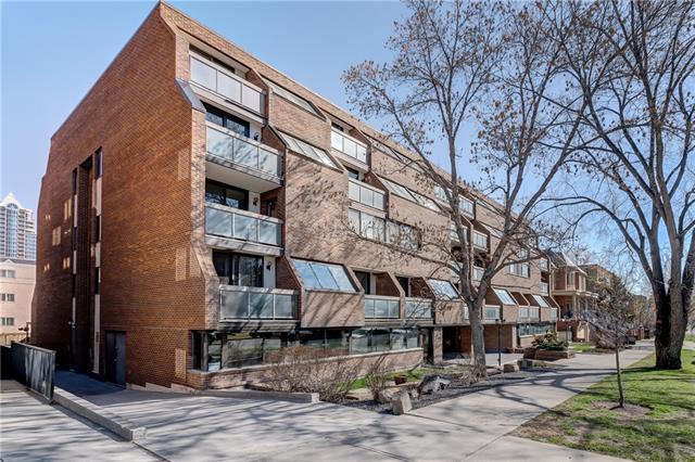 #304 824 ROYAL AV SW, 1 bed, 1 bath, at $275,000