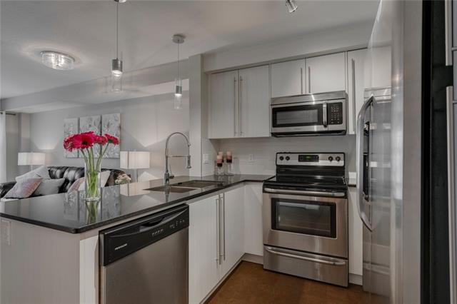 #3103 11 MAHOGANY RO SE, 1 bed, 1 bath, at $200,000