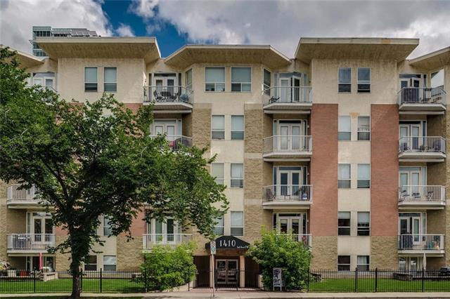 #206 1410 2 ST SW, 2 bed, 2 bath, at $250,000