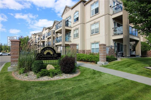 #2117 303 ARBOUR CREST DR NW, 2 bed, 2 bath, at $319,900