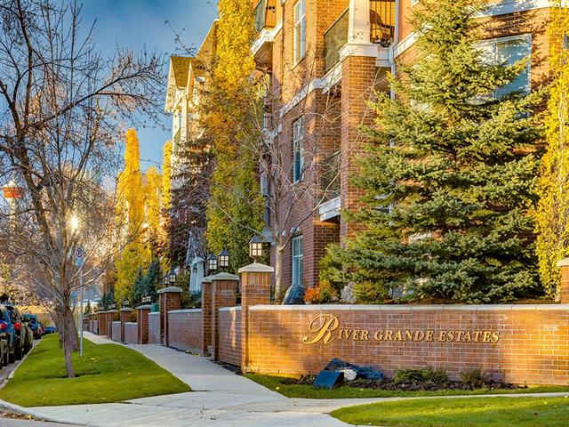 #201 2320 ERLTON ST SW, 1 bed, 1 bath, at $319,900