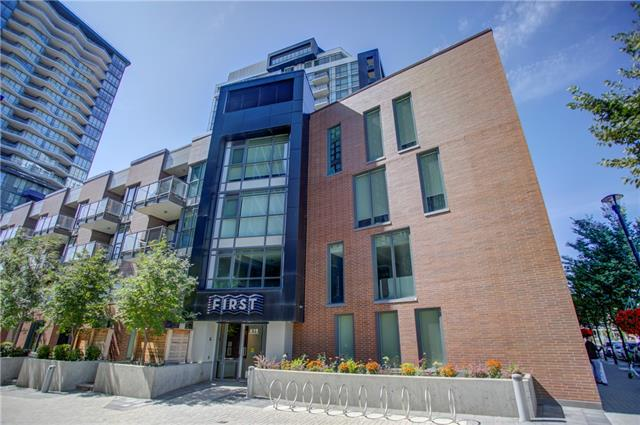 #123 619 CONFLUENCE WY SE, 1 bed, 1 bath, at $309,000