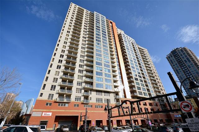 #1904 1053 10 ST SW, 1 bed, 1 bath, at $215,000
