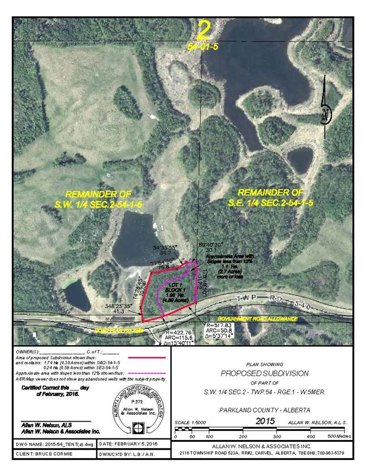 Parkland County Subdivision Maps 1120 Twp Rd 540, Rural Parkland County, Alberta | MLS® # E4044204  Parkland County Subdivision Maps