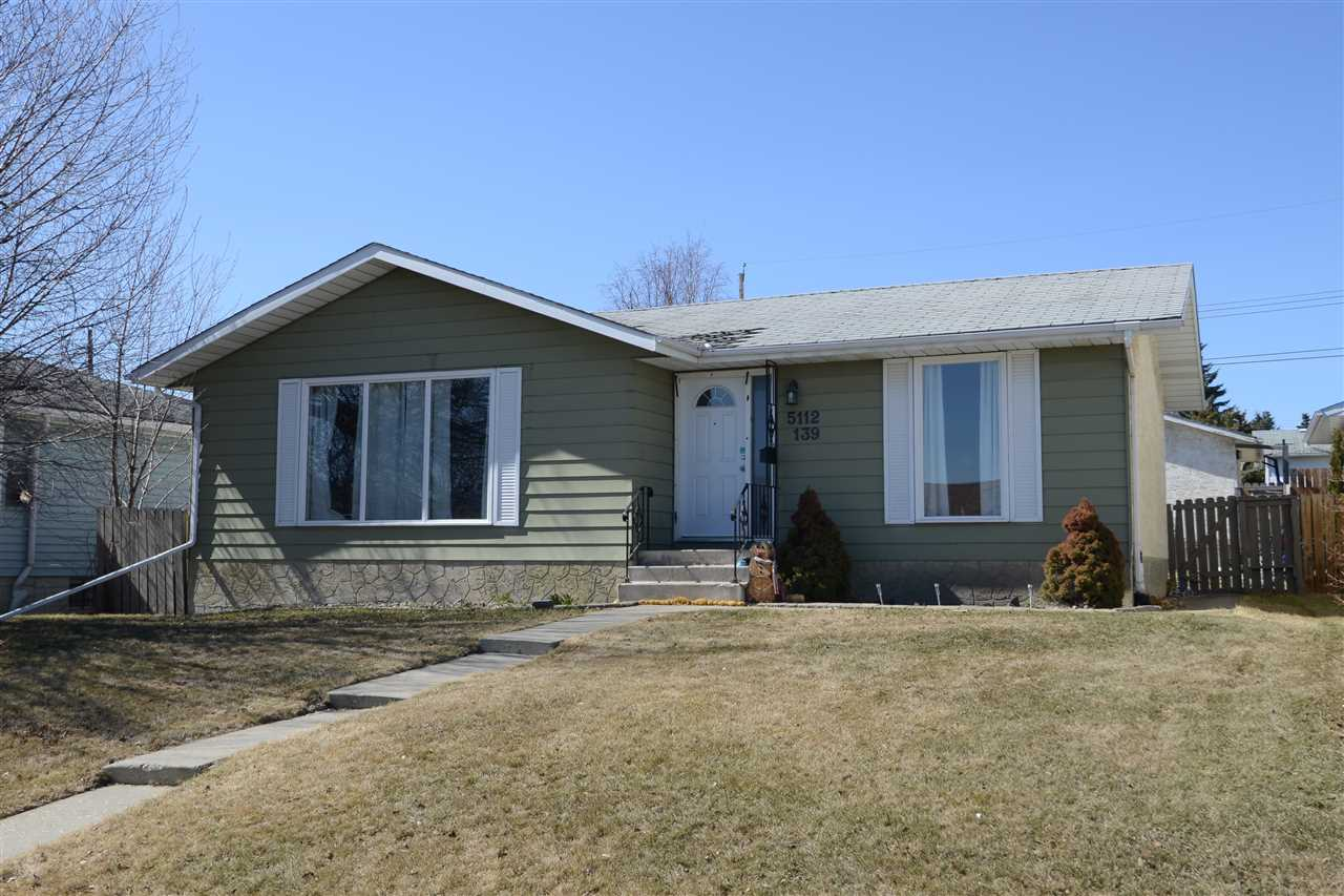 5112 139 Avenue NW, 5 bed, 2.1 bath, at $339,900