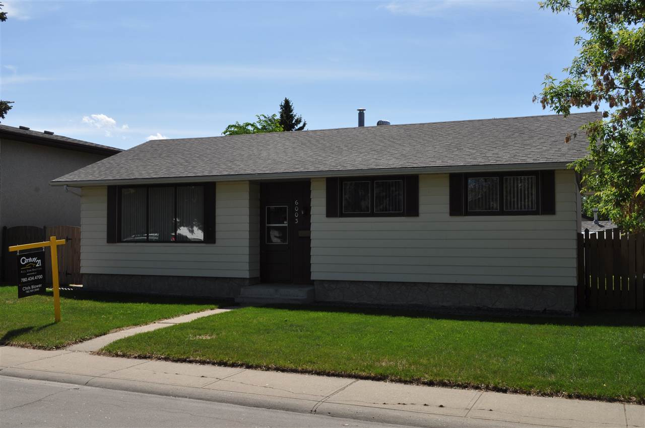6003 142 Avenue NW, 4 bed, 1.1 bath, at $329,800
