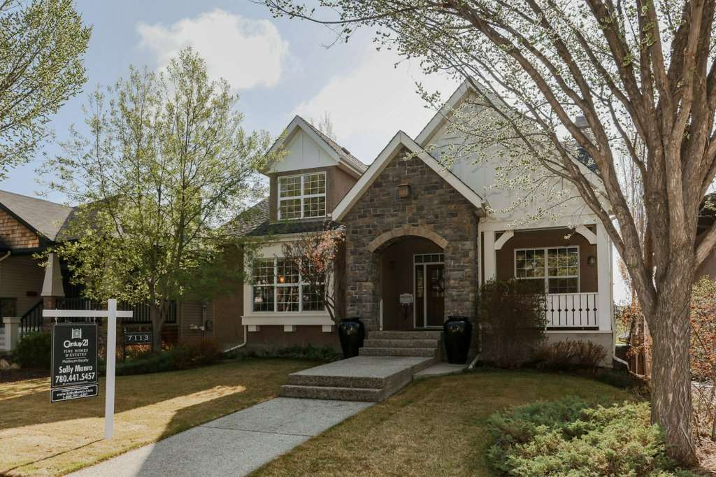 7113 119 Street NW, 3 bed, 3 bath, at $1,150,000