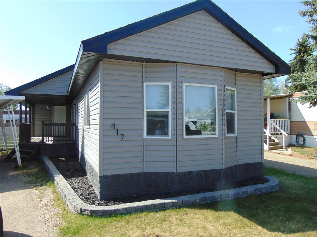 417 10770 Winterburn Road, 2 bed, 1 bath, at $55,000