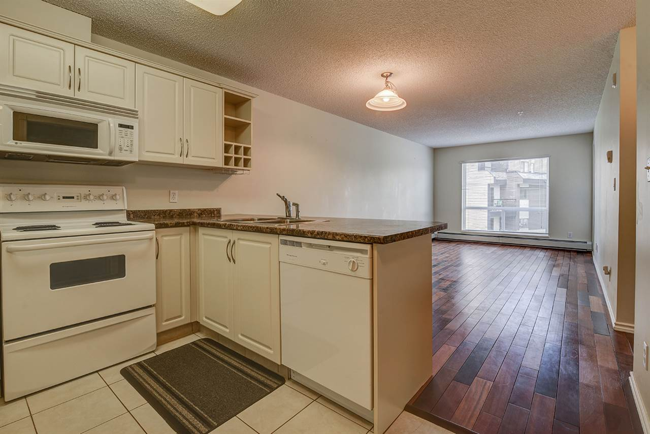 211 17404 64 Avenue, 1 bed, 1 bath, at $158,900
