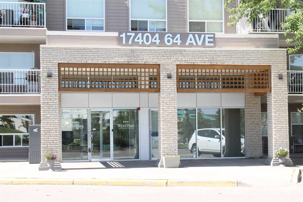 104 17404 64 Avenue NW, 1 bed, 1 bath, at $153,700