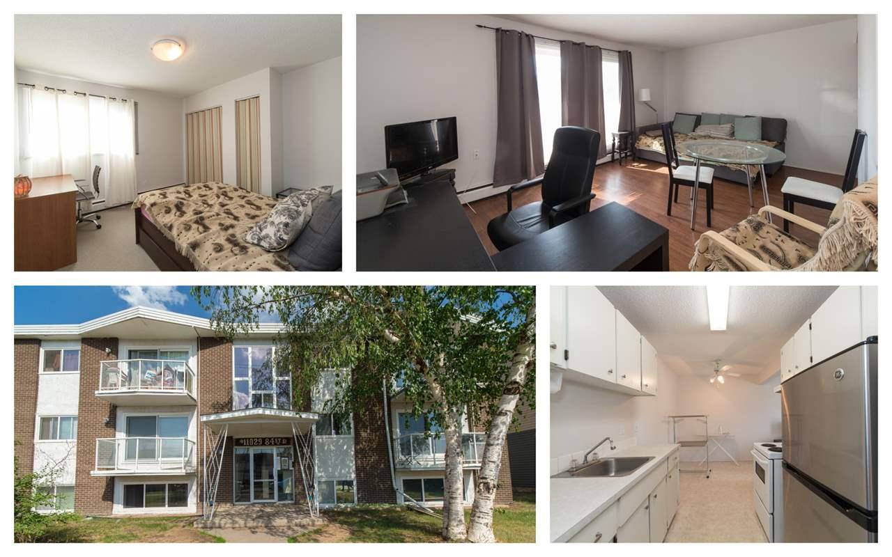 207 11029 84 Street, 1 bed, 1 bath, at $80,000