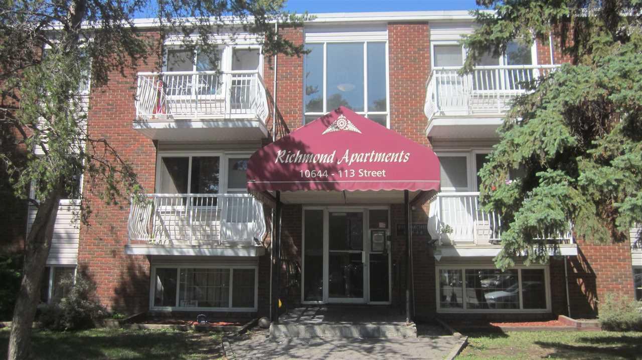 209 10644 113 Street NW, 1 bed, 1 bath, at $99,900