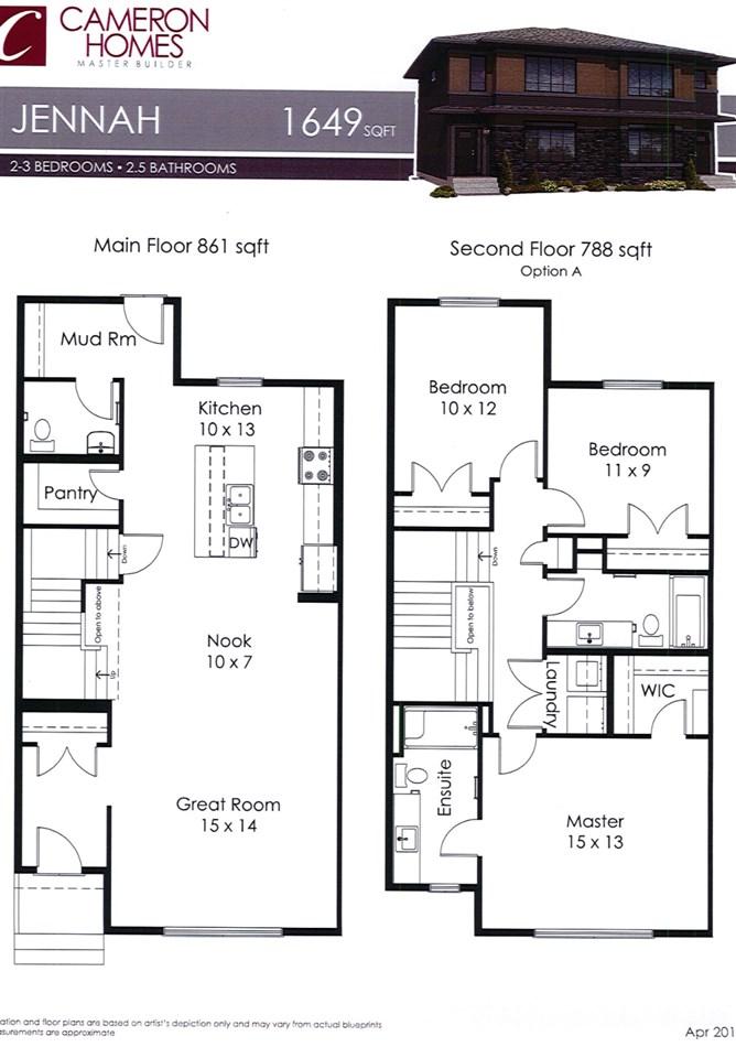 7 Amesbury Wynd, 3 bed, 3 bath, at $441,900