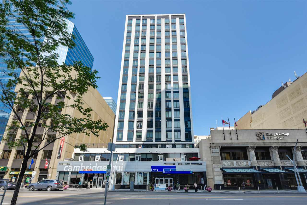 1507 10024 JASPER Avenue, 1 bed, 1 bath, at $149,000