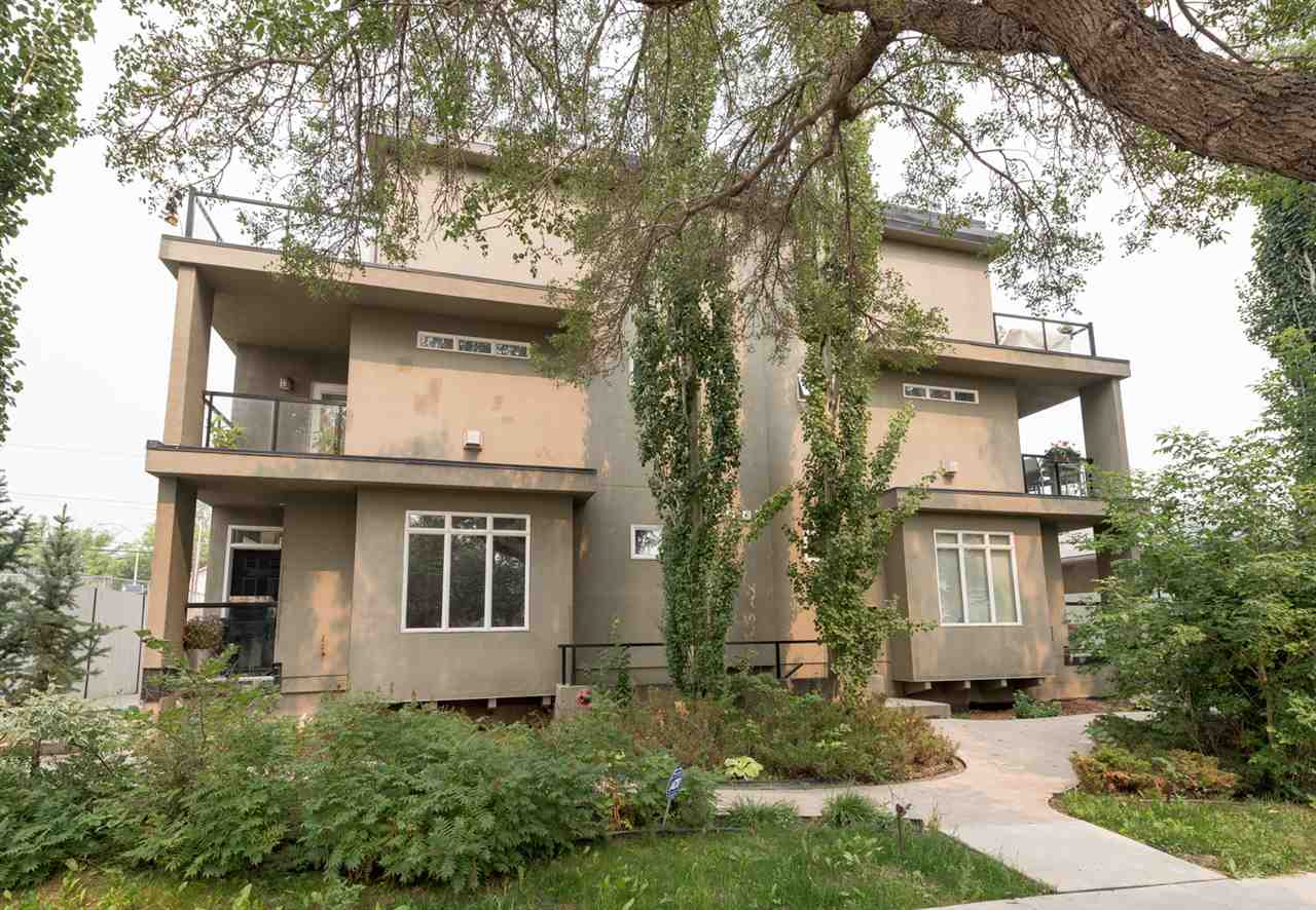 9 9856 83 Avenue, 1 bed, 3 bath, at $347,500
