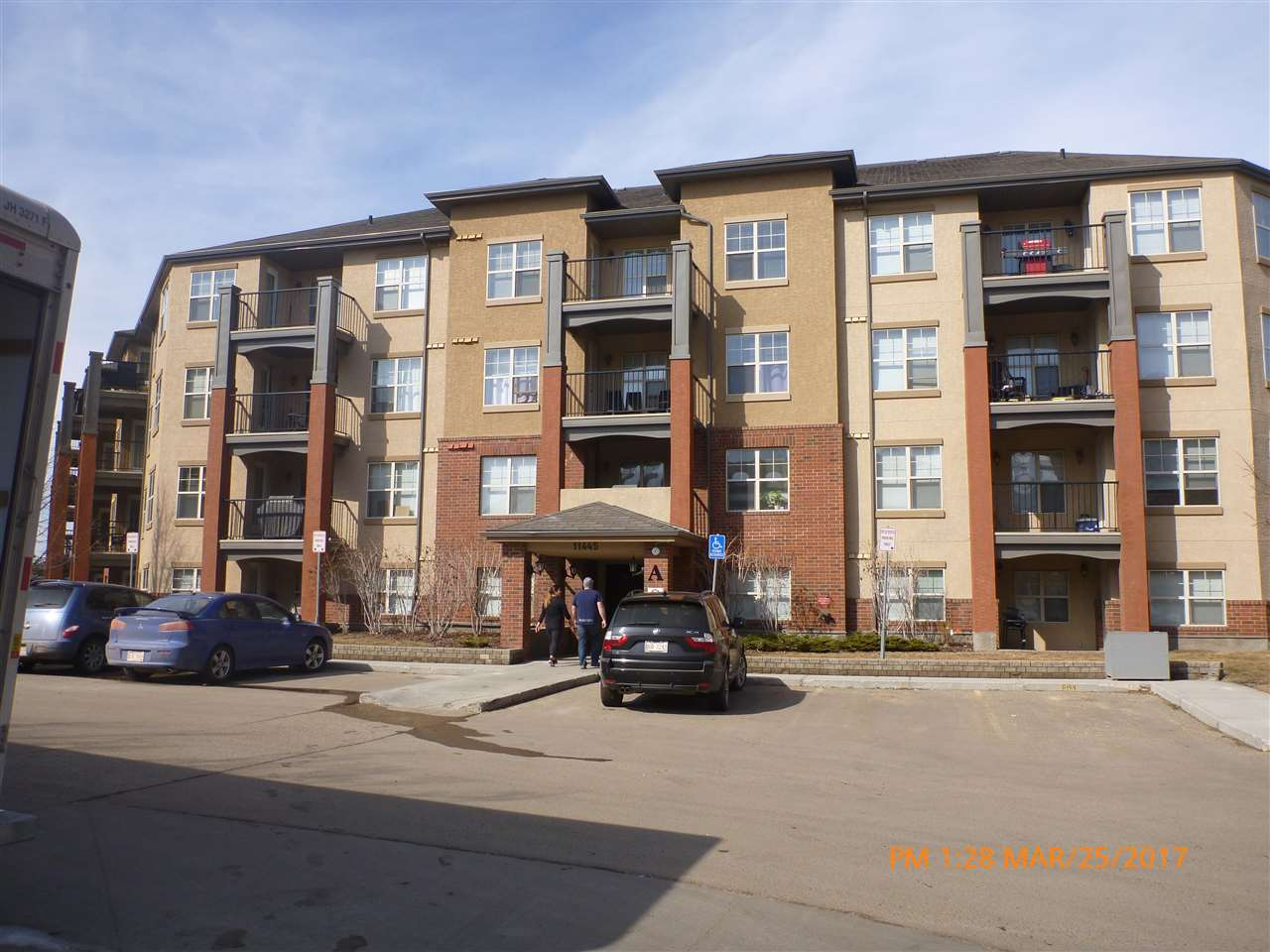 312 11445 ELLERSLIE Road SW, 1 bed, 2 bath, at $164,900
