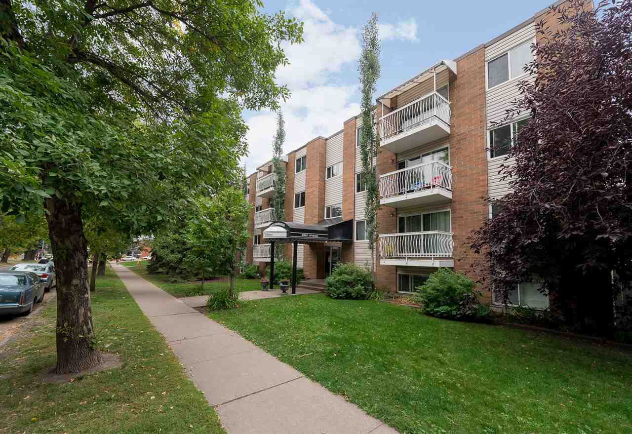 205 10625 83 Avenue NW, 2 bed, 1 bath, at $219,900