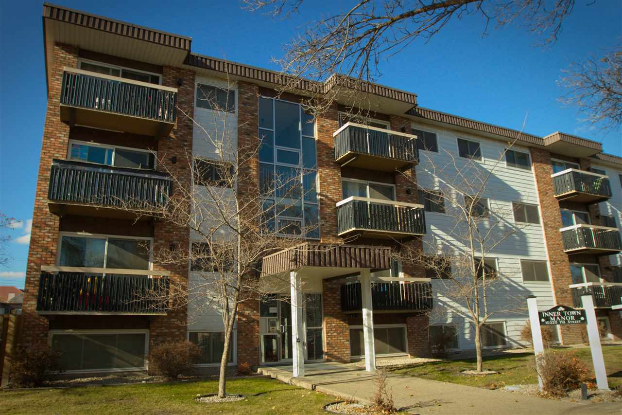 106 10320 113 Street, 2 bed, 1 bath, at $169,000