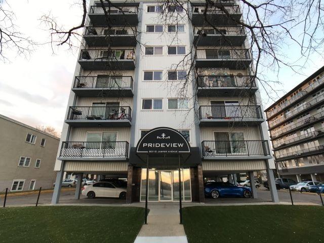 603 8310 Jasper Avenue, 1 bed, 1 bath, at $148,500