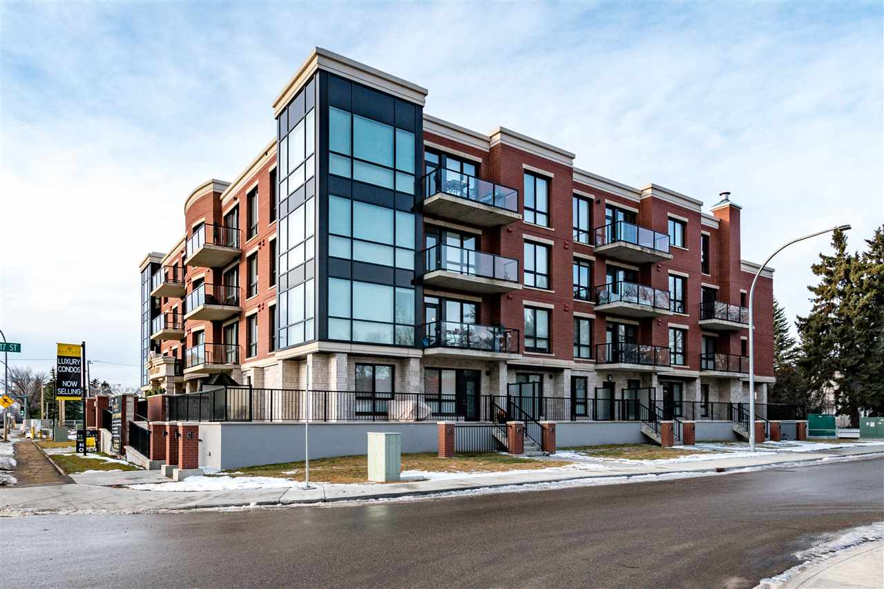 MLS® listing #E4136639 for sale located at 302 11710 87 Avenue